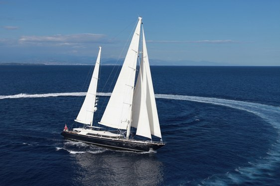 Sailing Yacht SILENCIO Open For Charter in the Caribbean