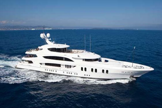 Special Seasonal Charter Rates on Superyacht Lady Linda