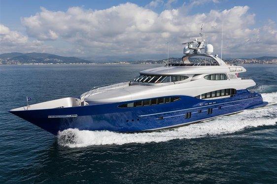 Superyacht 'Hatt Mill' Joins Global Charter Fleet