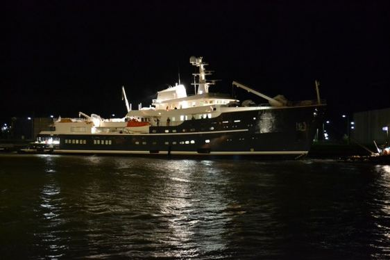Expedition Yacht LEGEND Hits the Water