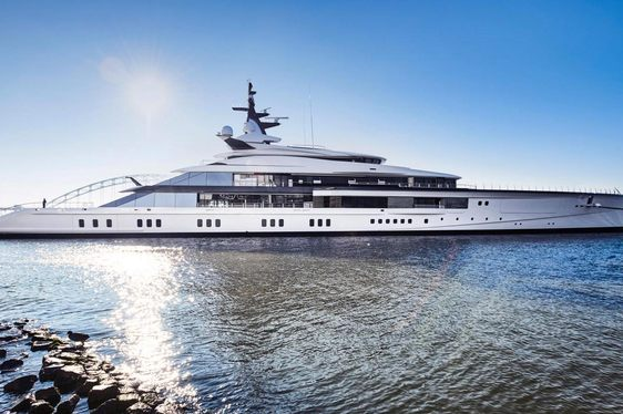 109m superyacht 'Bravo Eugenia' delivered by Oceanco