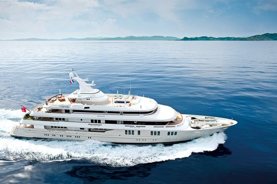 Superyacht REBORN Available in September in the West Mediterranean