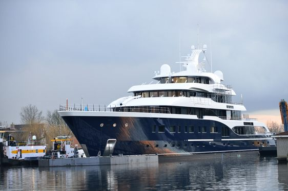 Feadship's Largest Superyacht (Hull 808) Named SYMPHONY