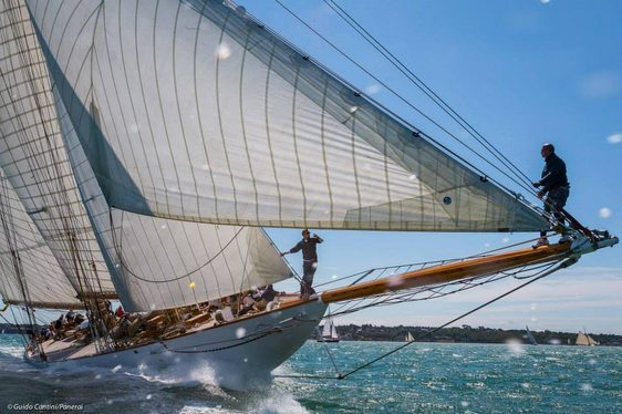 Sailing Yacht ELEONORA Shines at Panerai British Classic Week