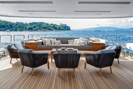 Baglietto Superyacht 'Mr T' to Make Charter Debut in the Mediterranean