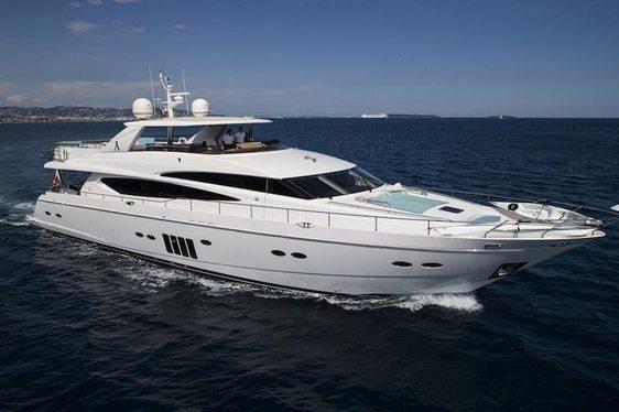 Motor Yacht CRISTOBAL Joins Global Charter Fleet