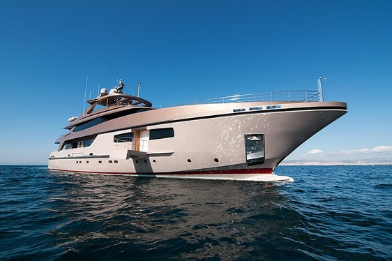 Superyacht GEOSAND New to Charter Market in Greece