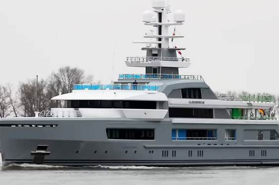 Exclusive First Video: Superyacht CLOUDBREAK Undergoing Sea Trials
