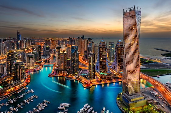 Escape to the Emirates Yachting Itinerary