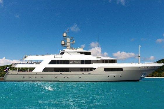 Superyacht 'My Seanna'