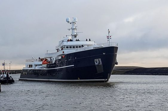 Charter Yacht LEGEND Cruises In Norway Following Extensive Refit