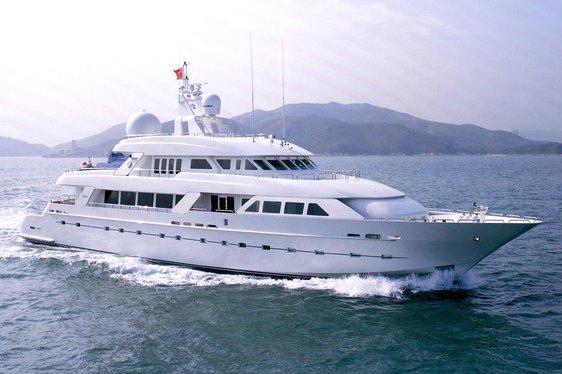 Superyacht 'Island Heiress' Prepares For Summer Charter Season