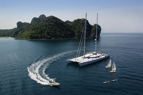 Luxury Sailing Yacht 'DOUCE FRANCE' Available in Tahiti