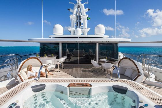 Picchiotti Superyacht 'Grace E' Opens for America's Cup Charter