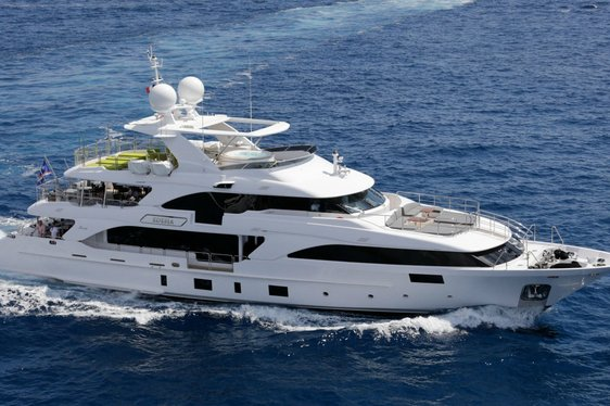 Benetti luxury yacht EDESIA available to charter in the Mediterranean this summer