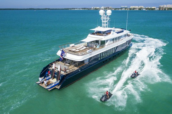 Superyacht 'Ice 5' available for Bahamas yacht charters