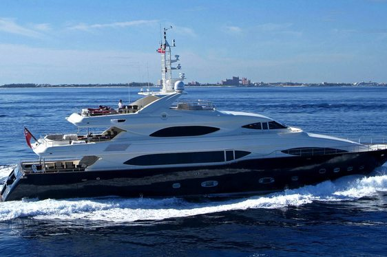 39.6m Motor Yacht Sima Now For Charter