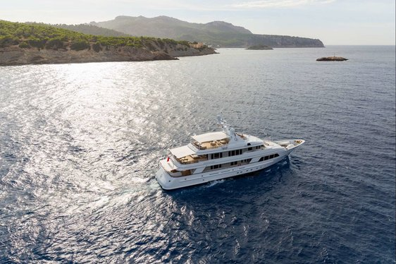 Feadship Motor Yacht GO Open for Mediterranean Charters This September