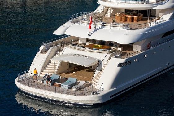 Charter yacht O'PTASIA wins at Design & Leadership Awards at FLIBS 2019