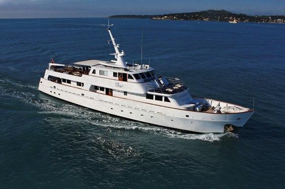 Charter yacht Osprey cruising in Croatia
