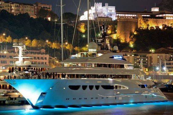 Lurssen's Quattroelle Yacht at Monaco Yacht Show 2013