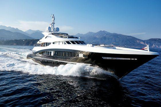 motor yacht ROCKET cruising on Mediterranean yacht charter