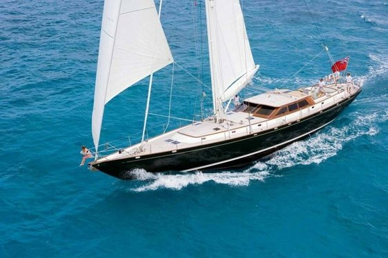 Charter yacht Whirlwind sailing in Montenegro
