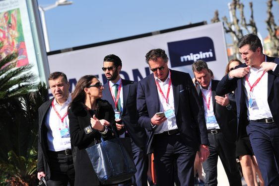 show-goers from the property sector in Cannes for MIPIM