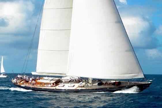 Charter sailing yacht Shamoun sailing in Indonesia