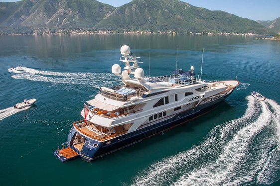 Superyacht JO available to charter in the Caribbean