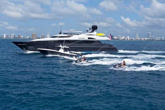 Superyacht TEMPTATION Available In Florida And The Bahamas