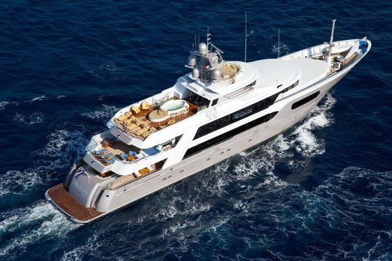 superyacht My Seanna appears in Tahiti on Below Deck season 6