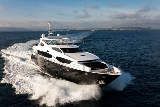 Motor Yacht 'Black and White' Available for West Mediterranean Charters