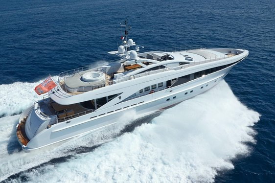 superyacht destiny cruising on charter in the mediterranean