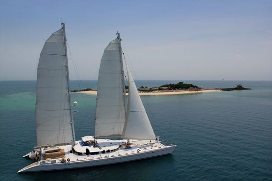 Sailing Catamaran Douce France For Charter in Indonesia