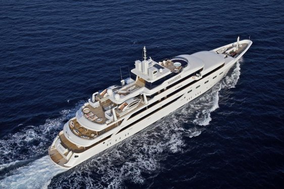 Charter Yacht O'MEGA Available In The Mediterranean This September