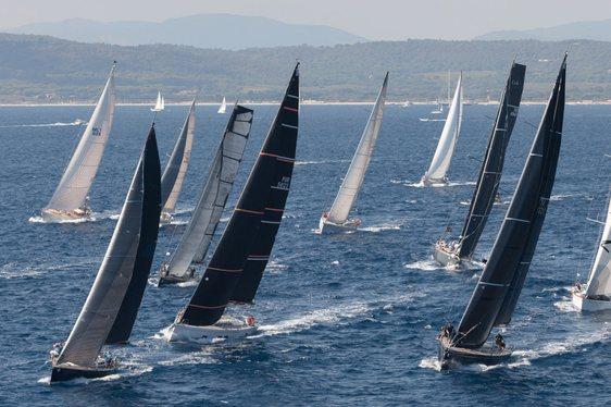 Racing at Les Voiles de Saint-Tropez