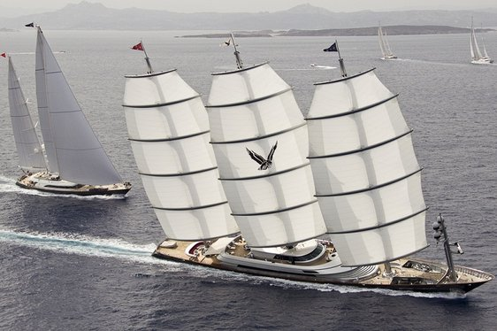 2015 Perini Navi Cup Arrives in Porto Cervo