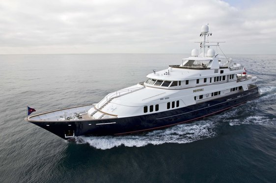 Charter yacht Inevitable cruising in the West Med