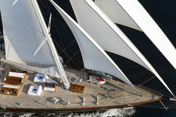 Sailing Yacht REGINA Open for Monaco Grand Prix Charters