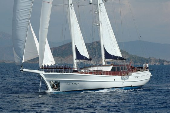 Gulet 'Hic Salta' Available for Charters in Turkey