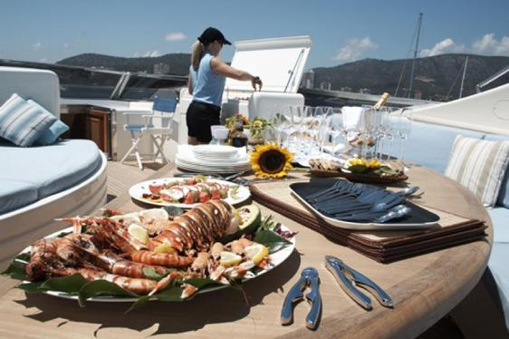 M/Y CHAMPAGNE O'CLOCK Offers Limited Time Deal in the Balearic Islands