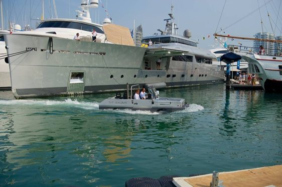 Superyacht EXUMA Wows at the Singapore Yacht Show