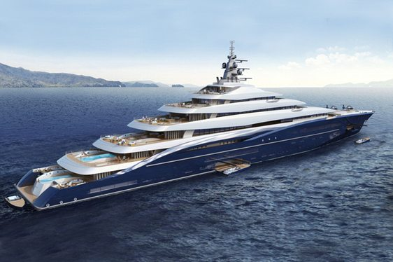 Will Superyacht 'Double Century' be World's First 'Gigayacht'?