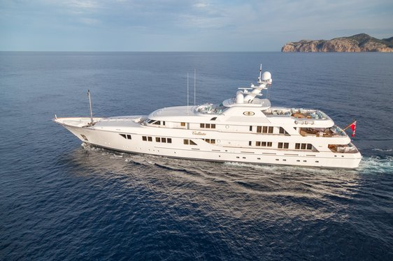 Superyacht CALLISTO Joins Global Charter Fleet