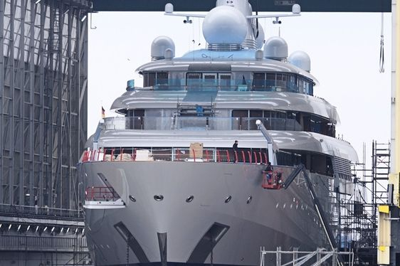 Lürssen 125 metre Superyacht Tatiana Launched