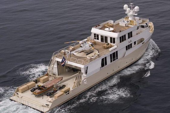Charter Yacht SuRi to Feature in Jason Statham Blockbuster