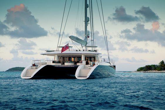 World's largest luxury catamaran HEMISPHERE opens for Tahiti yacht charters