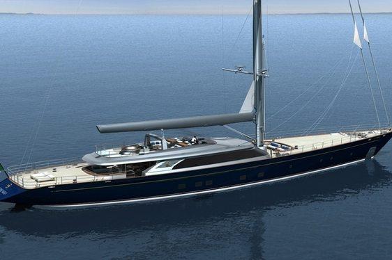 Sailing Yacht 'PERSEUS 3' Perini Navi