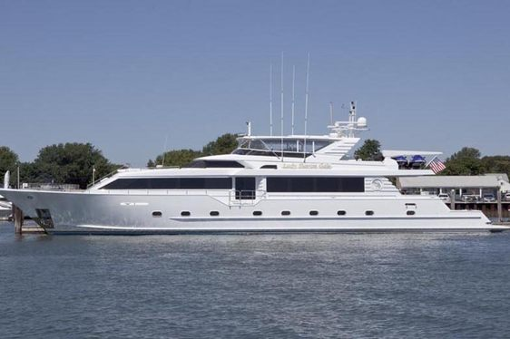 Superyacht 'LADY SHARON GALE' Available in the Caribbean
